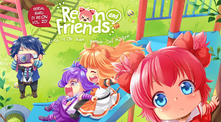 Reon and Friends di re:ON Vol. 20!