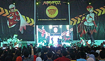 re:ON Comics @ Mangafest Jogja 2015