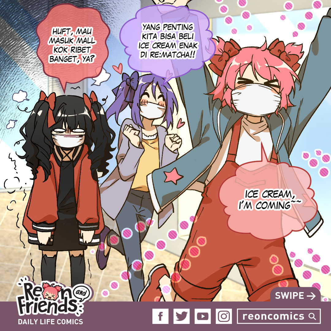 Reon and Friends Daily Life