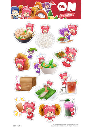 Sticker Culinary Set